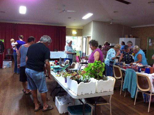 Rummage and plant sale