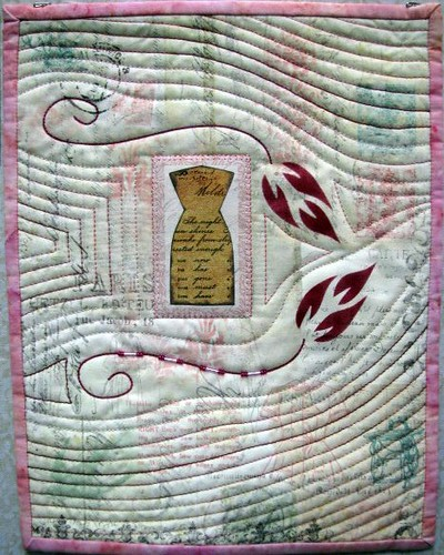 Fashion Plate, May Gallery Exhibit @Quiltworks