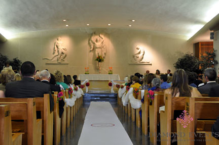Ceremony at Virginia Tech War Memorial Chapel