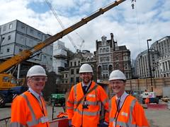 CBI staff at Tottenham Court Road tube station