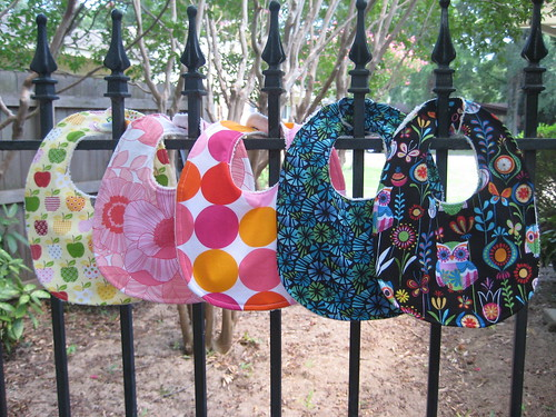 Bibs for a baby shower