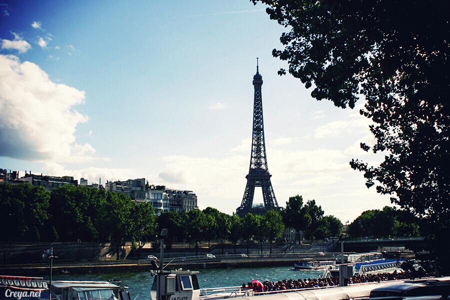 2016.10.09 | 看我的歐行腿| 艾菲爾鐵塔,五個視角看法國巴黎市的這仙燈塔 10