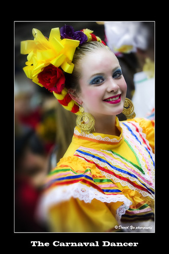 The Carnaval Dancer by davidyuweb