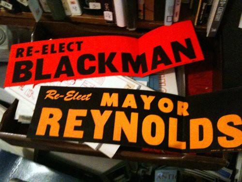 Re-Elect Blackman