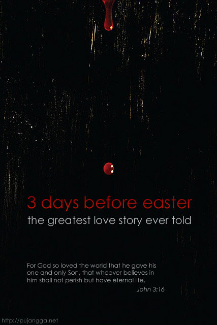 3 days before easter
