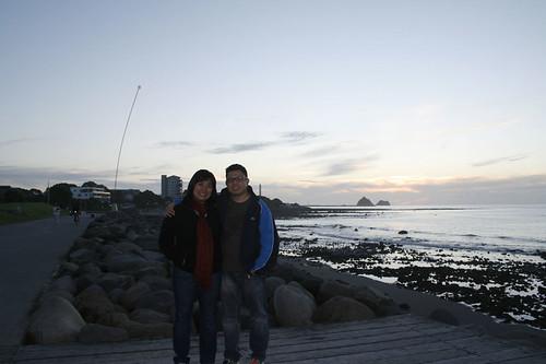 Enjoying a walk along the coastal walkway by maregena