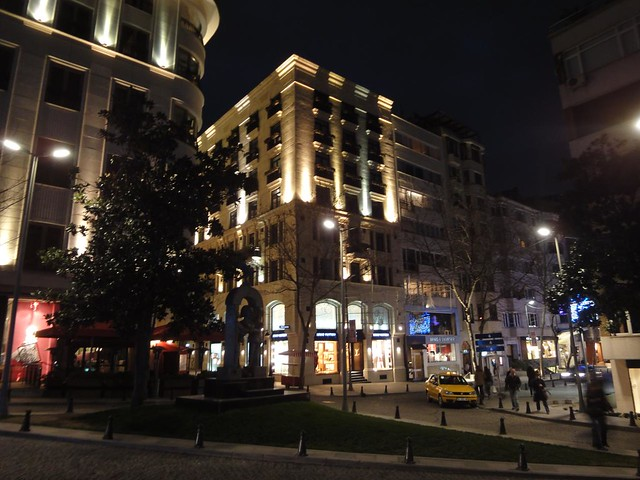 Bairro de Nişantaşı a zona Jet7 de Istambul