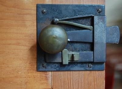 pine door hardware