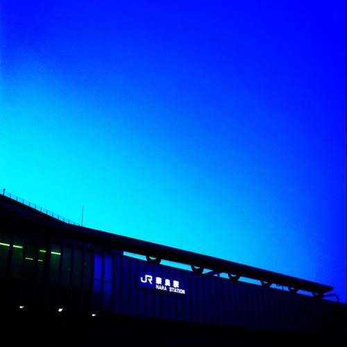 蒼の刻。 今日も一日、お疲れ様でした。 #Nara #evening