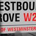 Westbourne Grove Sign