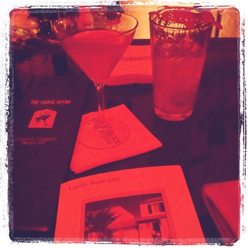 Sipping and reading in Denver style.