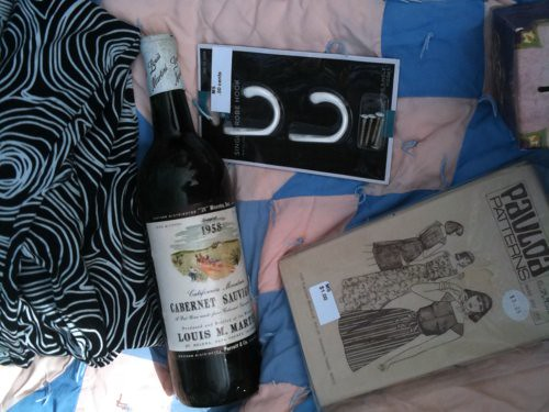 Wine and other detritus