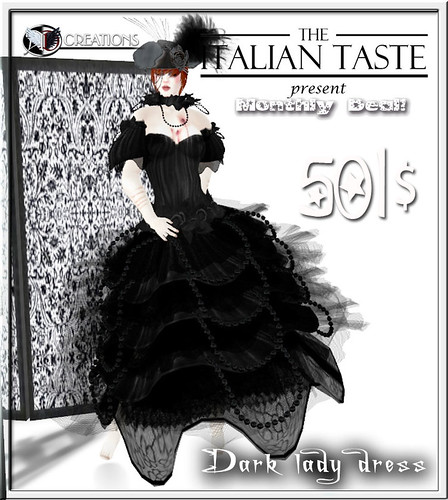 Dark lady / monthly deal by Aliza Karu [AD Creation]