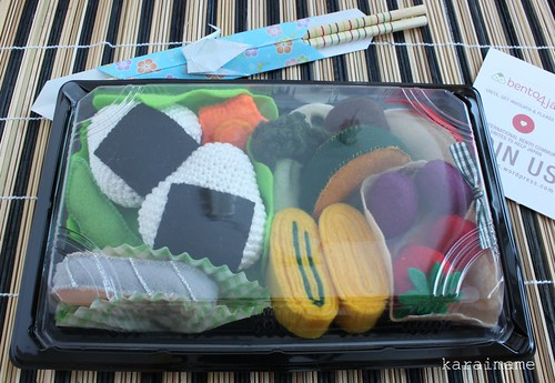 Bento box food set