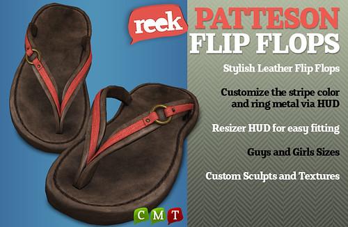 Reek - Patteson Flip Flops