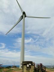 風力發電機與碉堡