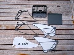 Quadshot 3D printed parts V2