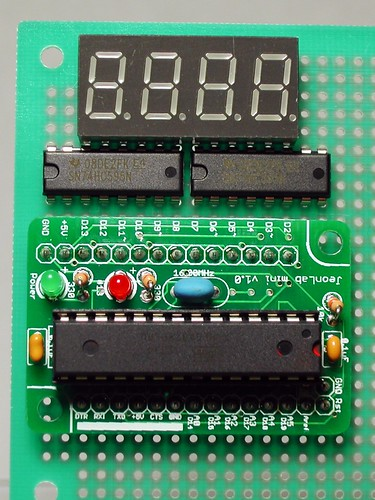 4 digit 7-segment LED with JeonLab mini