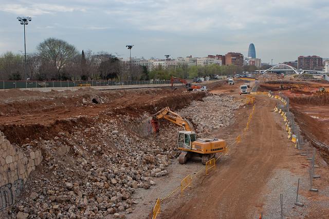 Pont del treball - Ronda Sant Martí - 30-03-11