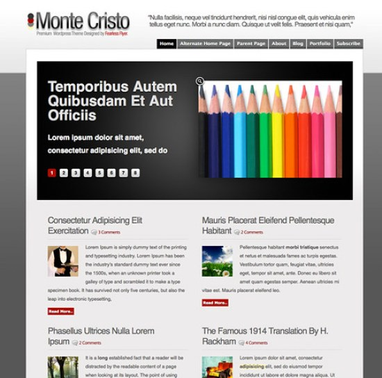 5596880092 2007cc5771 20 Tema Premium Gratis WordPress