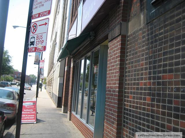 Carmela's Taqueria store front