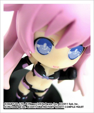 Closer look on Nendoroid Petit Purple Sister