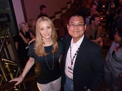 Lisa Kudrow & me