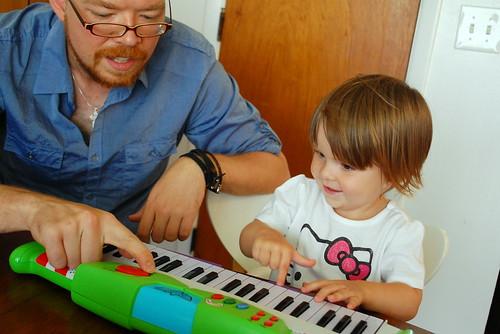A new piano.