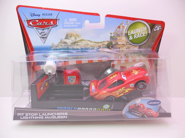 disney cars 2 lightning mcqueen launcher