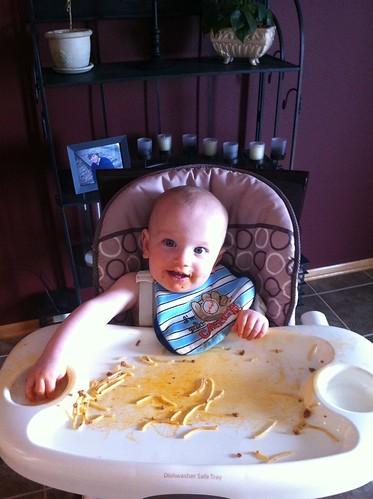 Maximus loves spaghetti! by Kyley_Leger