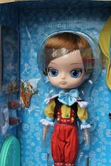 Pinocchio in the box