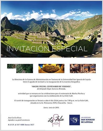 Machu Picchu San Ignacio