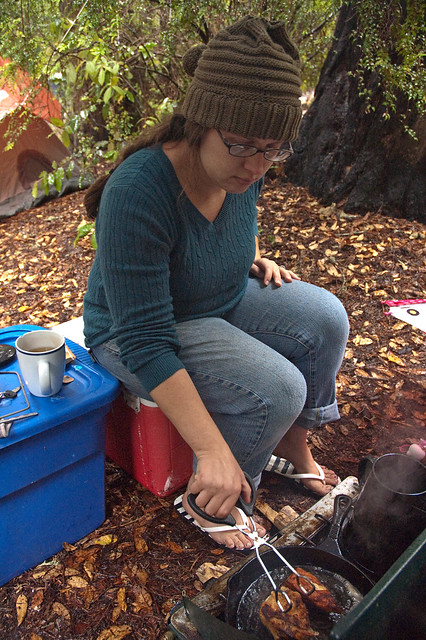 Big Basin Melissa Cooking