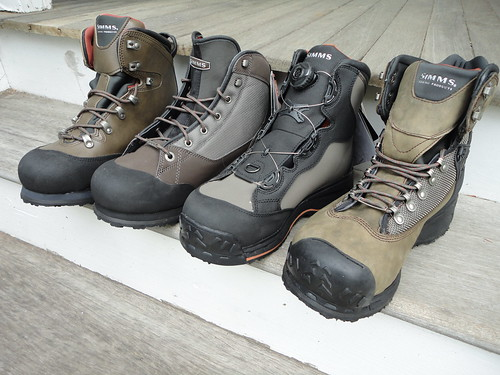 Simms Rubber Soled Wading boots