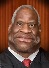 Clarence Thomas - Caricature