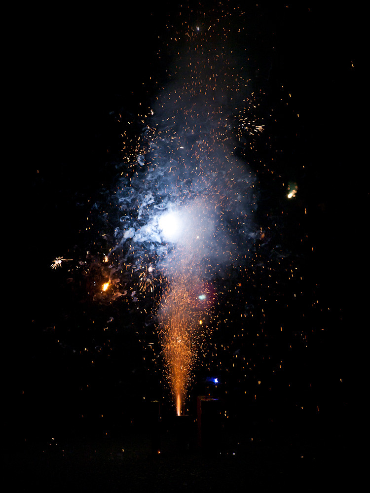 Fireworks at Tiara St.