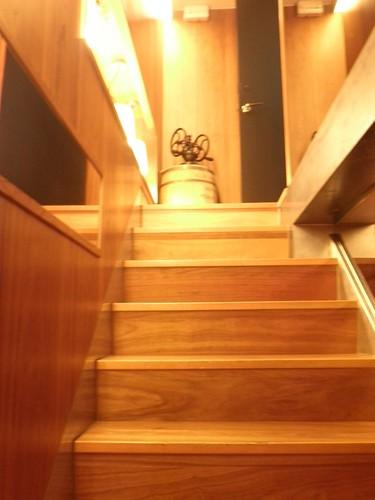 米朗琪_下地下樓梯