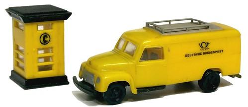Siku Opel Blitz postale