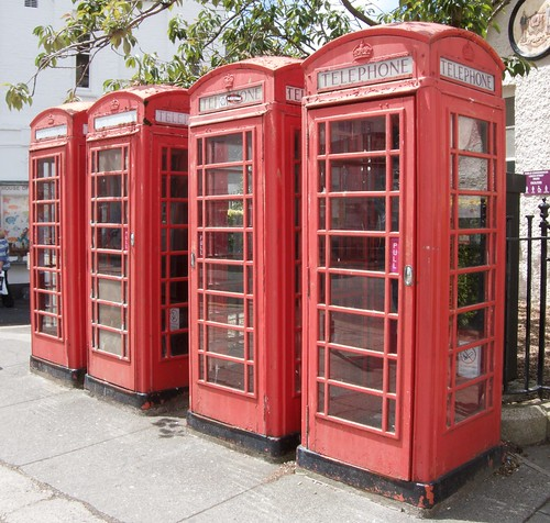 Old phoneboxes