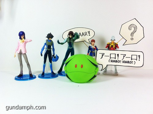 Funny Gundam Pilot Figures (7)