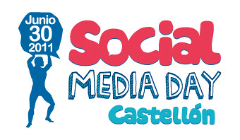 Logo oficial del Social Media Day Castellón
