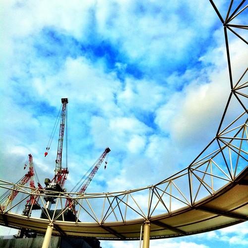 クレーンとリング #crane