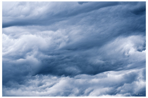 Cloudscape in the West Loop - Number 2205
