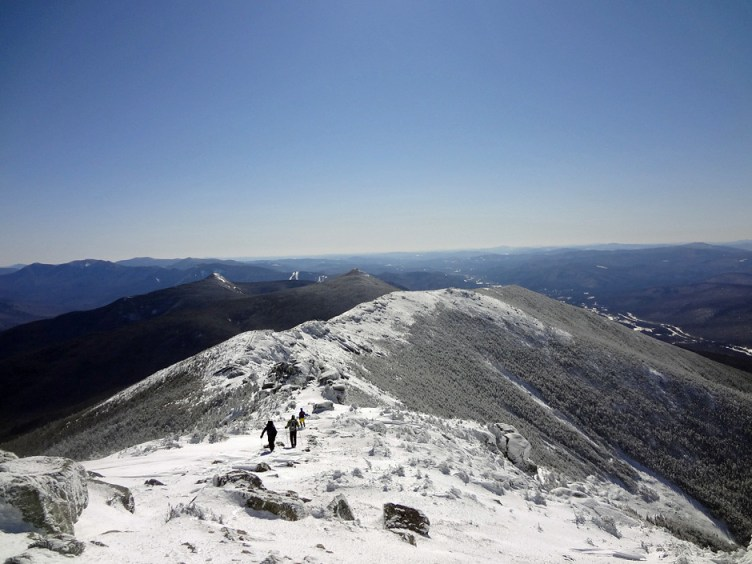 Franconia Ridge Trail from Mt. Lincoln to Little Haystack Mountain