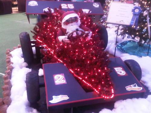 2010.11.27: Racecar Santa