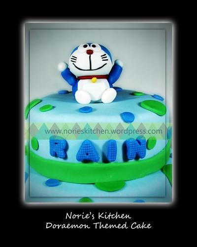 Norie's Kitchen - Doraemon Cake - Detail