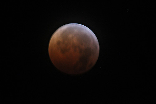 Lunar Eclipse - Blood Moon by SearchNetMedia