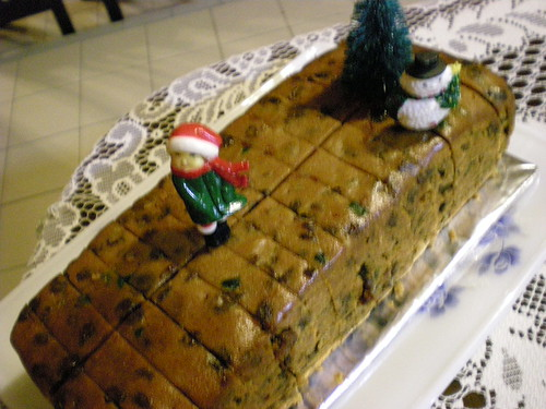 Christmas party 2010 - fruit cake