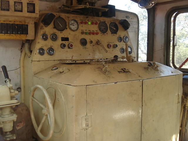 Neral - Matheran Railway Engine - Inside