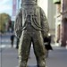 Spaceman on Karl Johans Gate, Oslo, Norway